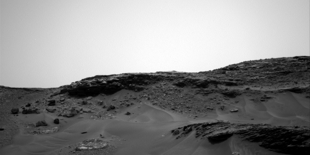 NASA's Mars rover Curiosity acquired this image using its Right Navigation Cameras (Navcams) on Sol 971