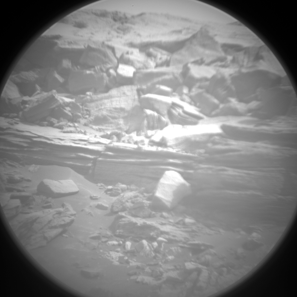 Nasa's Mars rover Curiosity acquired this image using its Chemistry & Camera (ChemCam) on Sol 973, at drive 598, site number 47