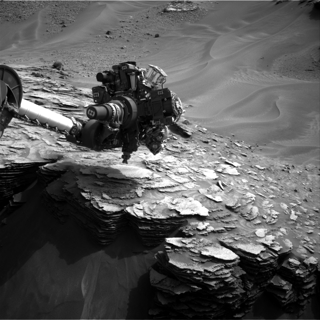Nasa's Mars rover Curiosity acquired this image using its Right Navigation Camera on Sol 975, at drive 598, site number 47