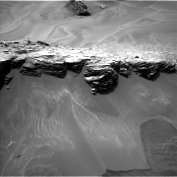 Nasa's Mars rover Curiosity acquired this image using its Left Navigation Camera on Sol 976, at drive 628, site number 47