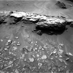Nasa's Mars rover Curiosity acquired this image using its Left Navigation Camera on Sol 976, at drive 646, site number 47