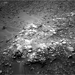 Nasa's Mars rover Curiosity acquired this image using its Left Navigation Camera on Sol 976, at drive 832, site number 47