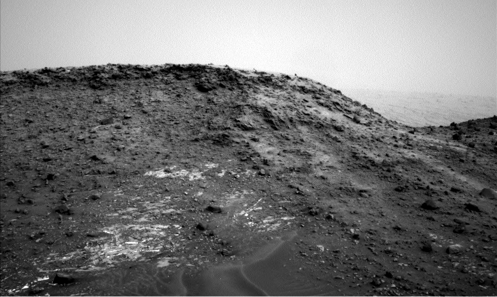 Nasa's Mars rover Curiosity acquired this image using its Left Navigation Camera on Sol 976, at drive 1166, site number 47