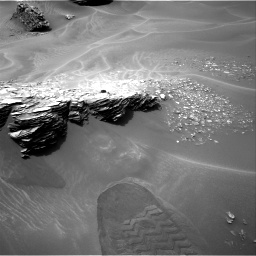 Nasa's Mars rover Curiosity acquired this image using its Right Navigation Camera on Sol 976, at drive 622, site number 47