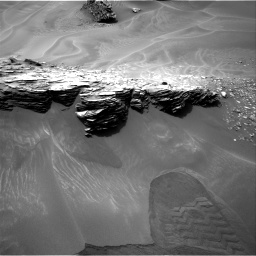 Nasa's Mars rover Curiosity acquired this image using its Right Navigation Camera on Sol 976, at drive 628, site number 47