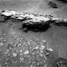Nasa's Mars rover Curiosity acquired this image using its Right Navigation Camera on Sol 976, at drive 646, site number 47