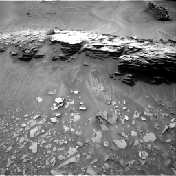 Nasa's Mars rover Curiosity acquired this image using its Right Navigation Camera on Sol 976, at drive 652, site number 47