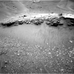 Nasa's Mars rover Curiosity acquired this image using its Right Navigation Camera on Sol 976, at drive 664, site number 47