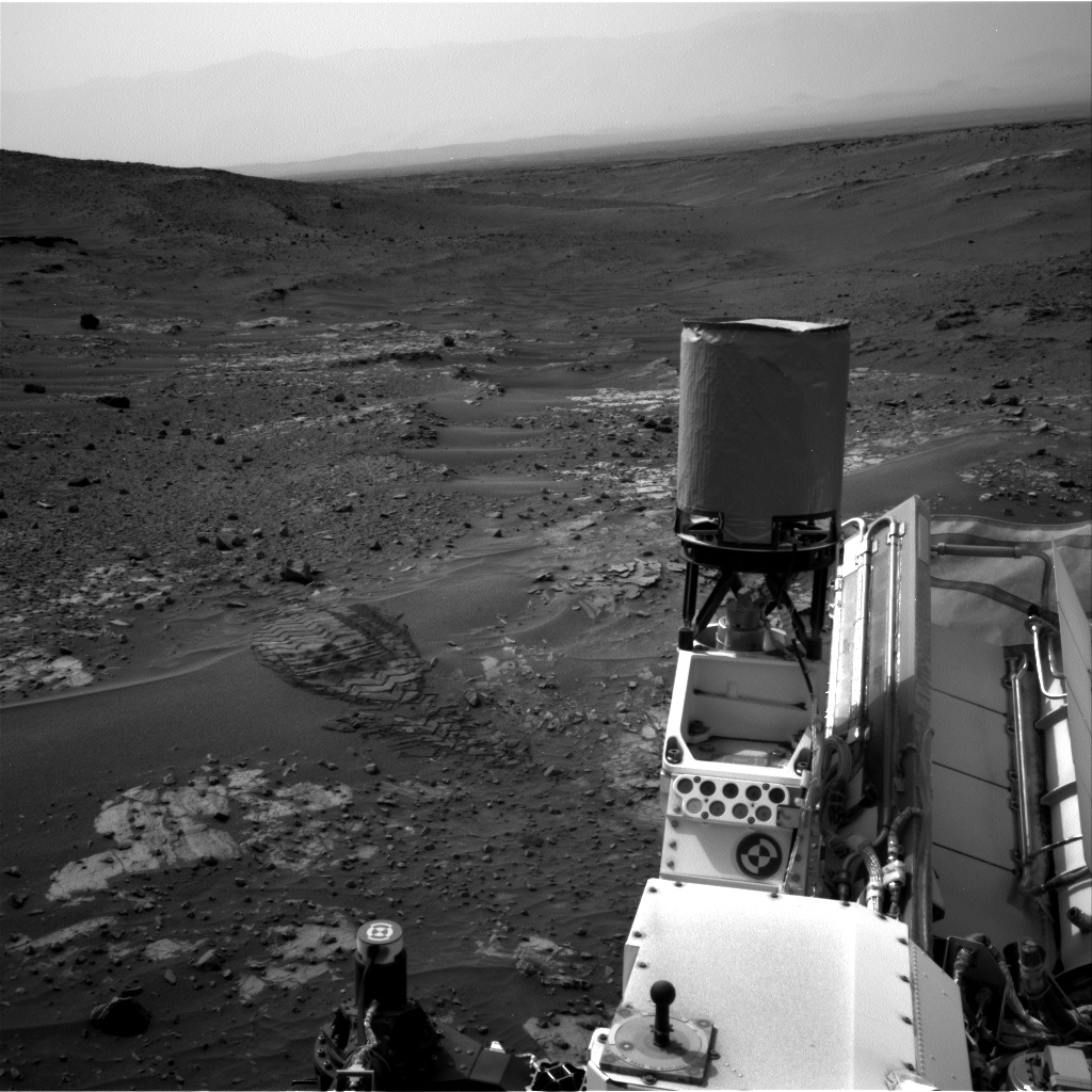 Nasa's Mars rover Curiosity acquired this image using its Right Navigation Camera on Sol 976, at drive 1166, site number 47