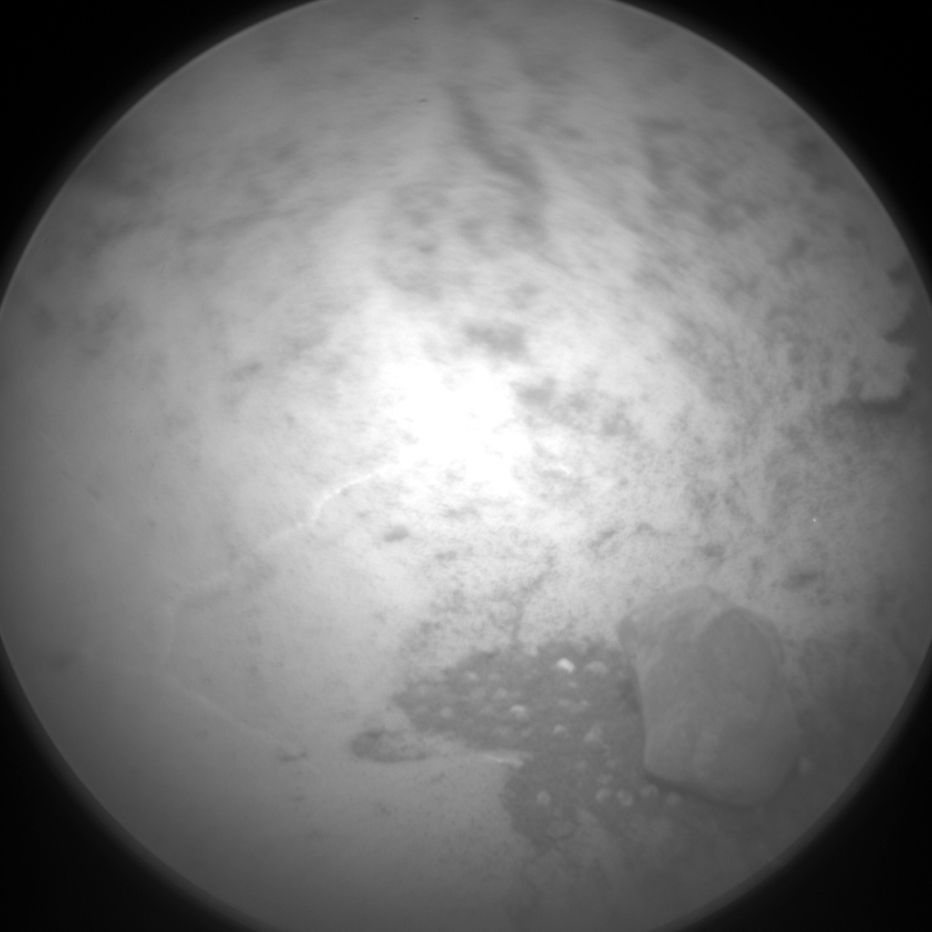 Nasa's Mars rover Curiosity acquired this image using its Chemistry & Camera (ChemCam) on Sol 978, at drive 1166, site number 47