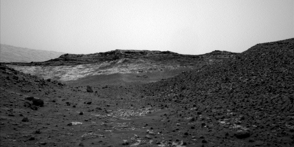 Nasa's Mars rover Curiosity acquired this image using its Left Navigation Camera on Sol 978, at drive 1202, site number 47
