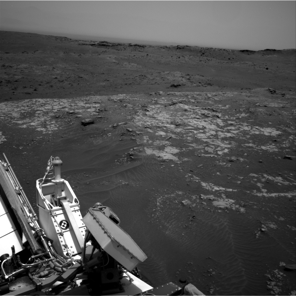 Nasa's Mars rover Curiosity acquired this image using its Right Navigation Camera on Sol 978, at drive 1202, site number 47