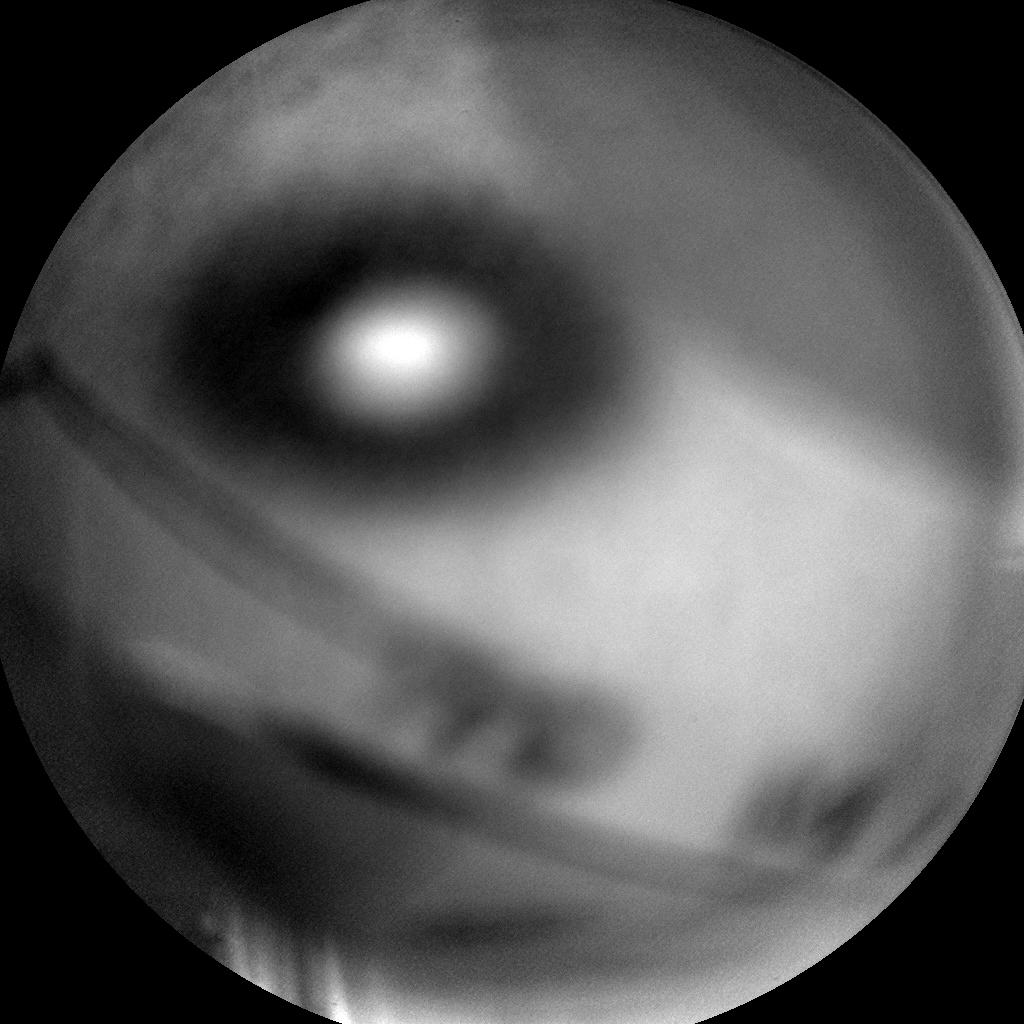 Nasa's Mars rover Curiosity acquired this image using its Chemistry & Camera (ChemCam) on Sol 979, at drive 1202, site number 47