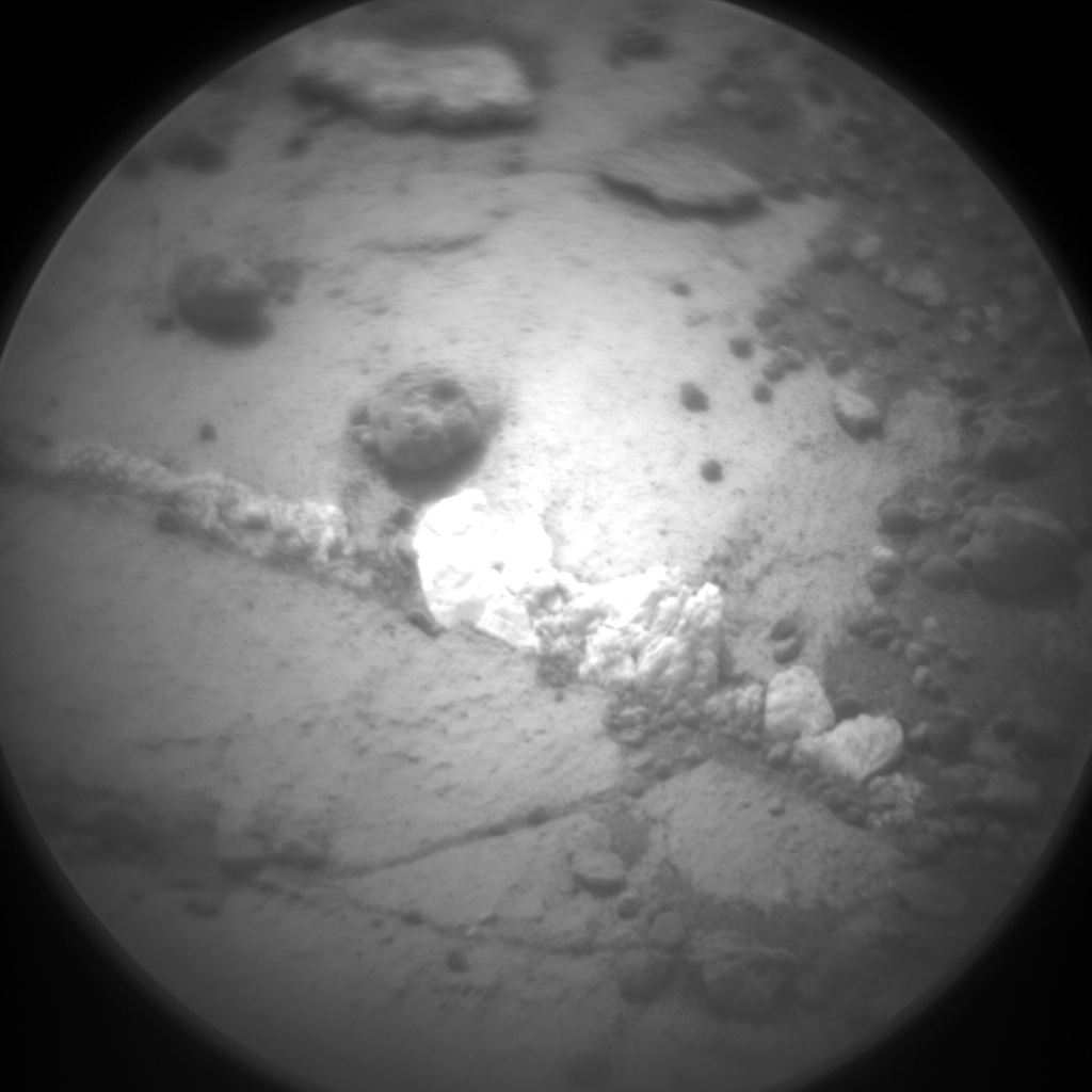 Nasa's Mars rover Curiosity acquired this image using its Chemistry & Camera (ChemCam) on Sol 980, at drive 1202, site number 47