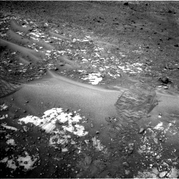 Nasa's Mars rover Curiosity acquired this image using its Left Navigation Camera on Sol 981, at drive 1230, site number 47