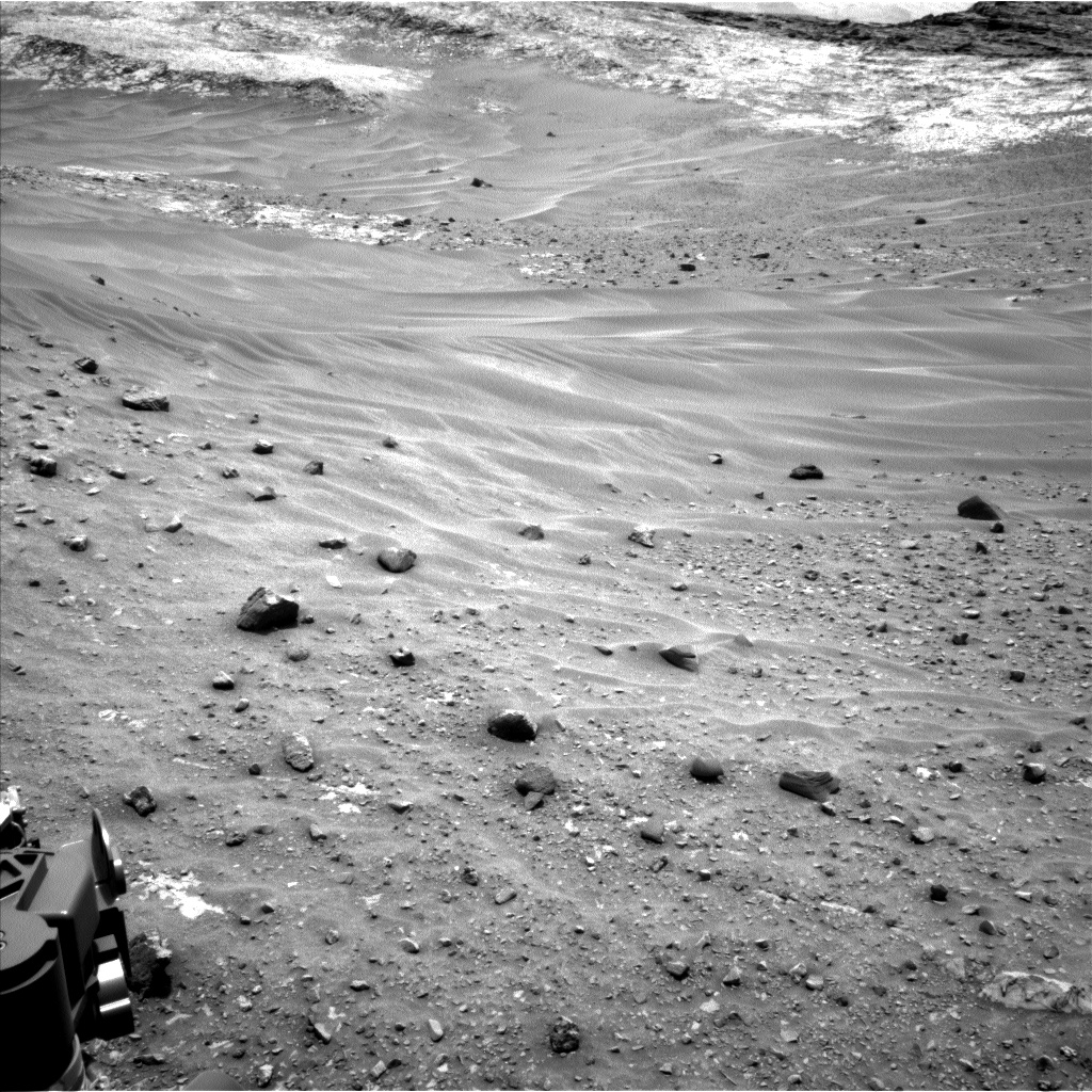 Nasa's Mars rover Curiosity acquired this image using its Left Navigation Camera on Sol 981, at drive 1452, site number 47