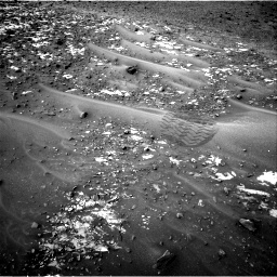 Nasa's Mars rover Curiosity acquired this image using its Right Navigation Camera on Sol 981, at drive 1218, site number 47