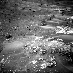 Nasa's Mars rover Curiosity acquired this image using its Right Navigation Camera on Sol 981, at drive 1242, site number 47