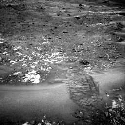 Nasa's Mars rover Curiosity acquired this image using its Right Navigation Camera on Sol 981, at drive 1254, site number 47