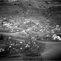 Nasa's Mars rover Curiosity acquired this image using its Right Navigation Camera on Sol 981, at drive 1266, site number 47