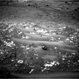 Nasa's Mars rover Curiosity acquired this image using its Right Navigation Camera on Sol 981, at drive 1278, site number 47