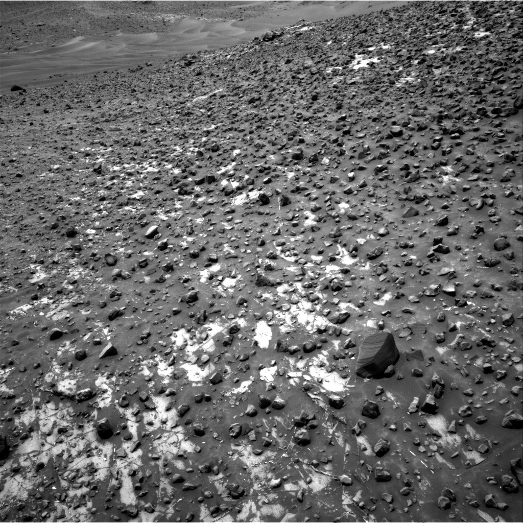 Nasa's Mars rover Curiosity acquired this image using its Right Navigation Camera on Sol 981, at drive 1410, site number 47