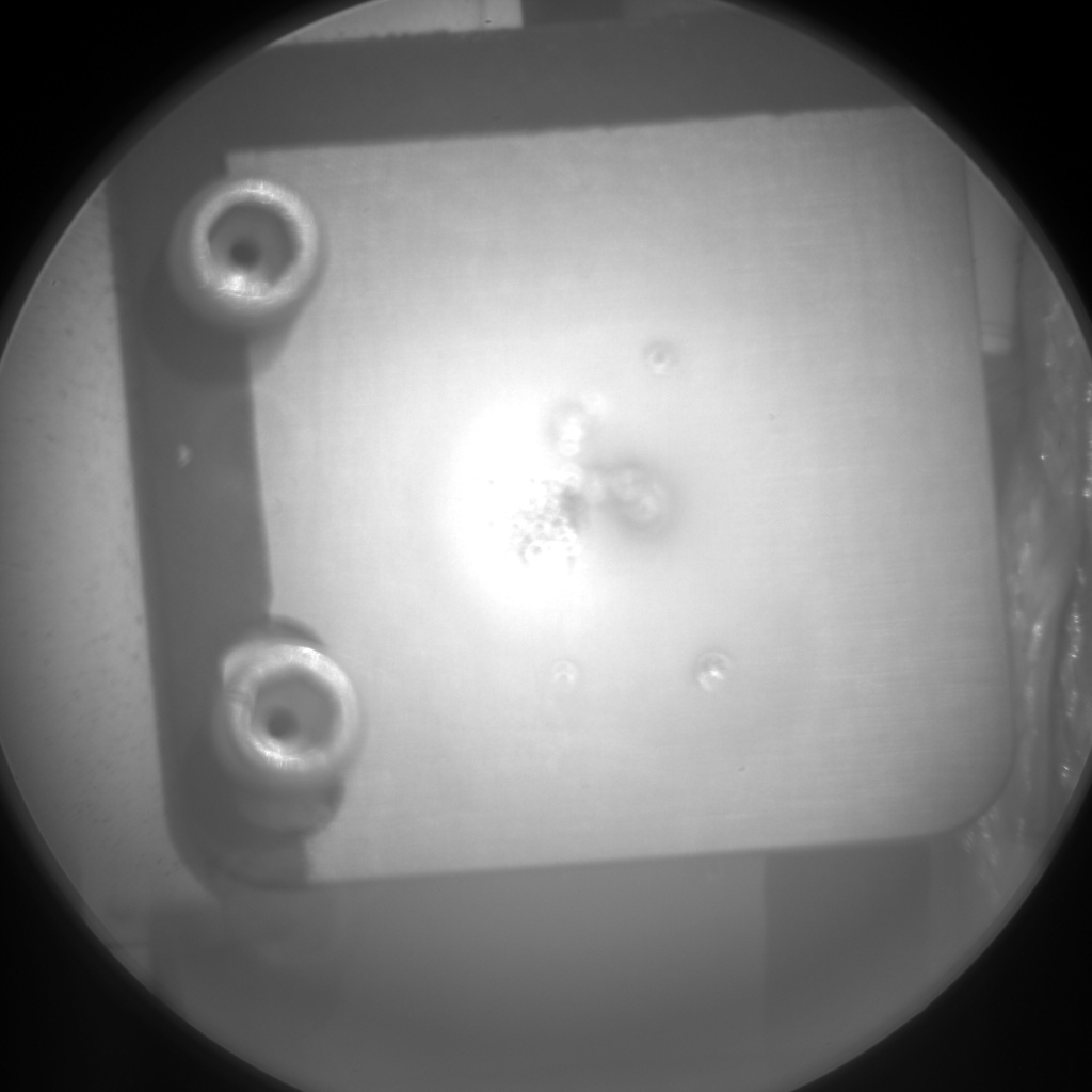 Nasa's Mars rover Curiosity acquired this image using its Chemistry & Camera (ChemCam) on Sol 983, at drive 1452, site number 47