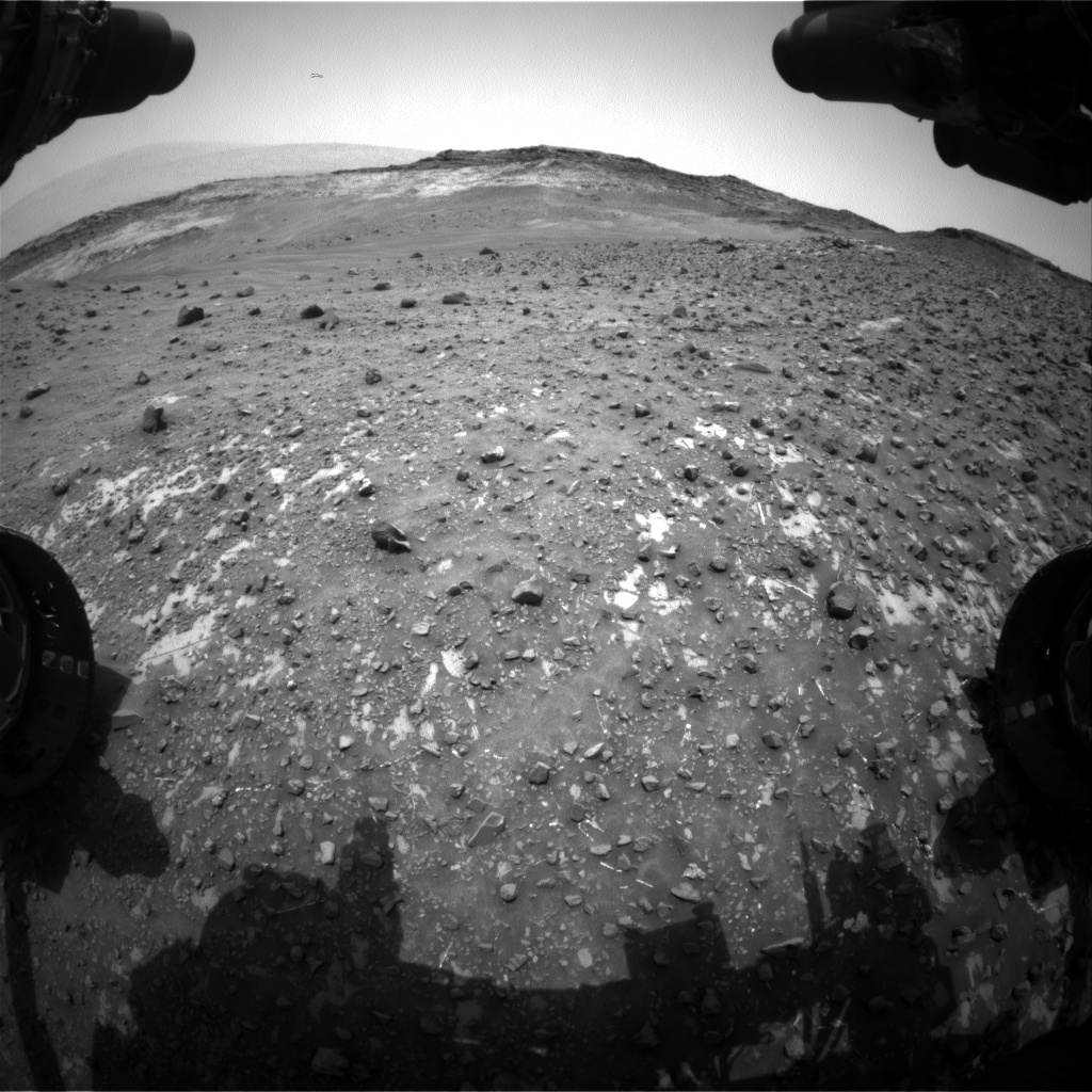 Nasa's Mars rover Curiosity acquired this image using its Front Hazard Avoidance Camera (Front Hazcam) on Sol 983, at drive 1452, site number 47