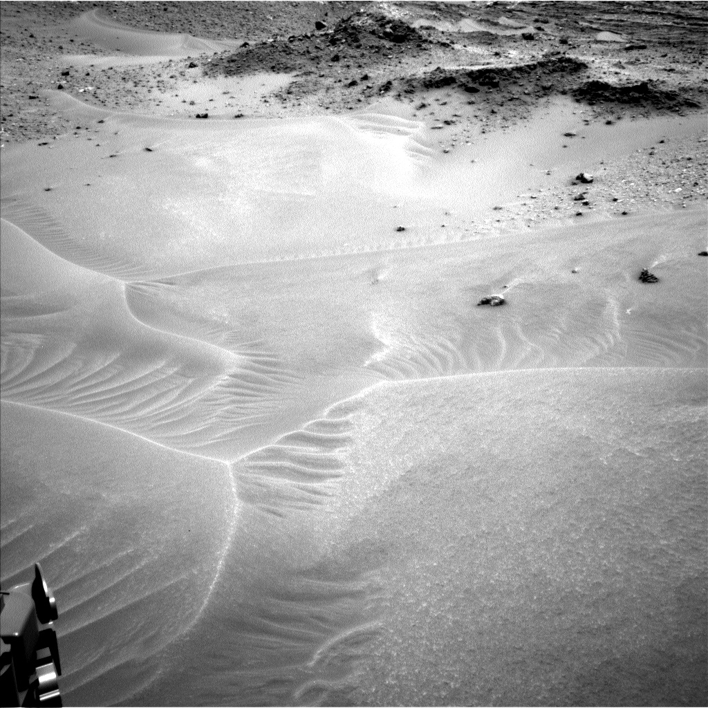 Nasa's Mars rover Curiosity acquired this image using its Left Navigation Camera on Sol 983, at drive 1632, site number 47