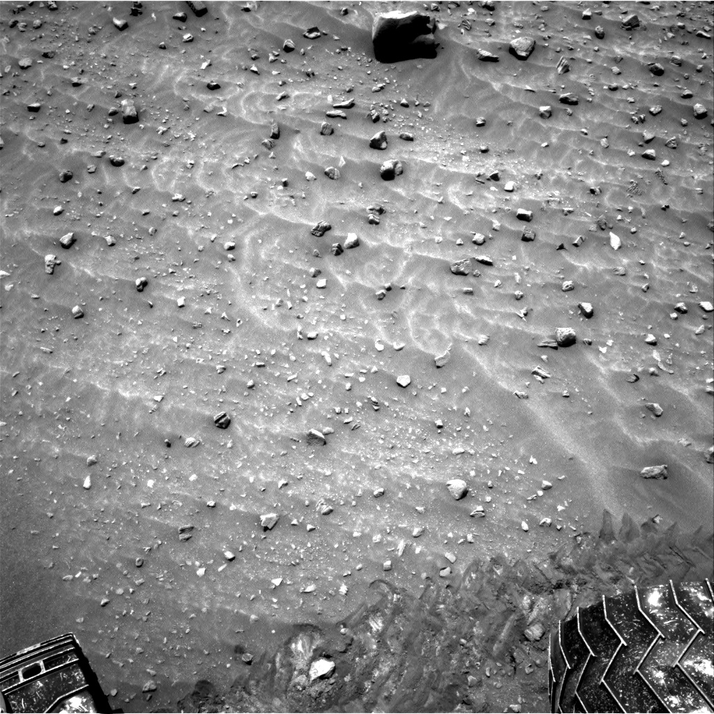 Nasa's Mars rover Curiosity acquired this image using its Right Navigation Camera on Sol 983, at drive 1632, site number 47
