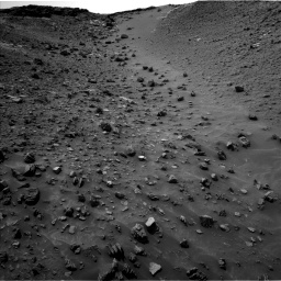 Nasa's Mars rover Curiosity acquired this image using its Left Navigation Camera on Sol 984, at drive 1788, site number 47