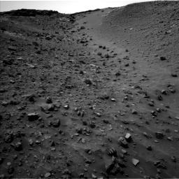 Nasa's Mars rover Curiosity acquired this image using its Left Navigation Camera on Sol 984, at drive 1794, site number 47