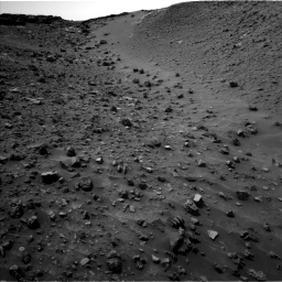 Nasa's Mars rover Curiosity acquired this image using its Left Navigation Camera on Sol 984, at drive 1800, site number 47