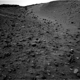 Nasa's Mars rover Curiosity acquired this image using its Left Navigation Camera on Sol 984, at drive 1812, site number 47