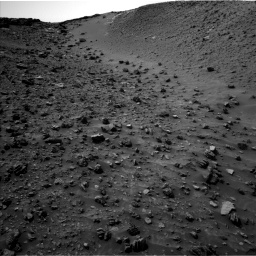 Nasa's Mars rover Curiosity acquired this image using its Left Navigation Camera on Sol 984, at drive 1818, site number 47