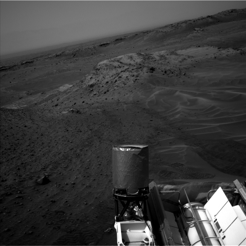 Nasa's Mars rover Curiosity acquired this image using its Left Navigation Camera on Sol 984, at drive 0, site number 48