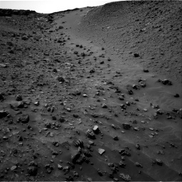 Nasa's Mars rover Curiosity acquired this image using its Right Navigation Camera on Sol 984, at drive 1800, site number 47