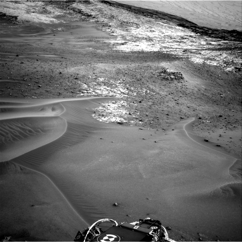 Nasa's Mars rover Curiosity acquired this image using its Right Navigation Camera on Sol 984, at drive 0, site number 48