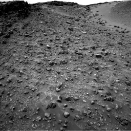 Nasa's Mars rover Curiosity acquired this image using its Left Navigation Camera on Sol 986, at drive 6, site number 48