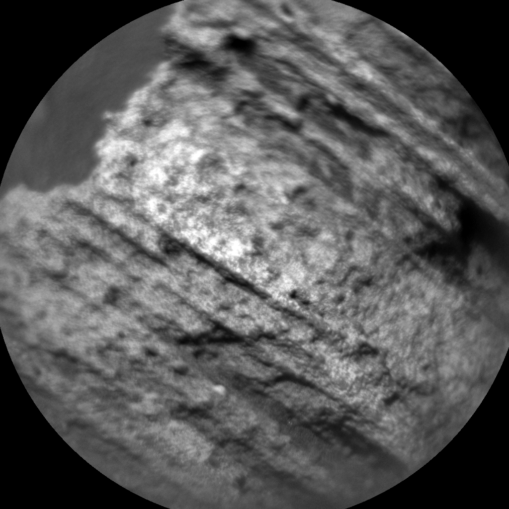 Nasa's Mars rover Curiosity acquired this image using its Chemistry & Camera (ChemCam) on Sol 986, at drive 0, site number 48