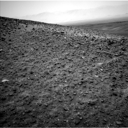 Nasa's Mars rover Curiosity acquired this image using its Left Navigation Camera on Sol 987, at drive 160, site number 48
