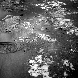 Nasa's Mars rover Curiosity acquired this image using its Right Navigation Camera on Sol 987, at drive 436, site number 48