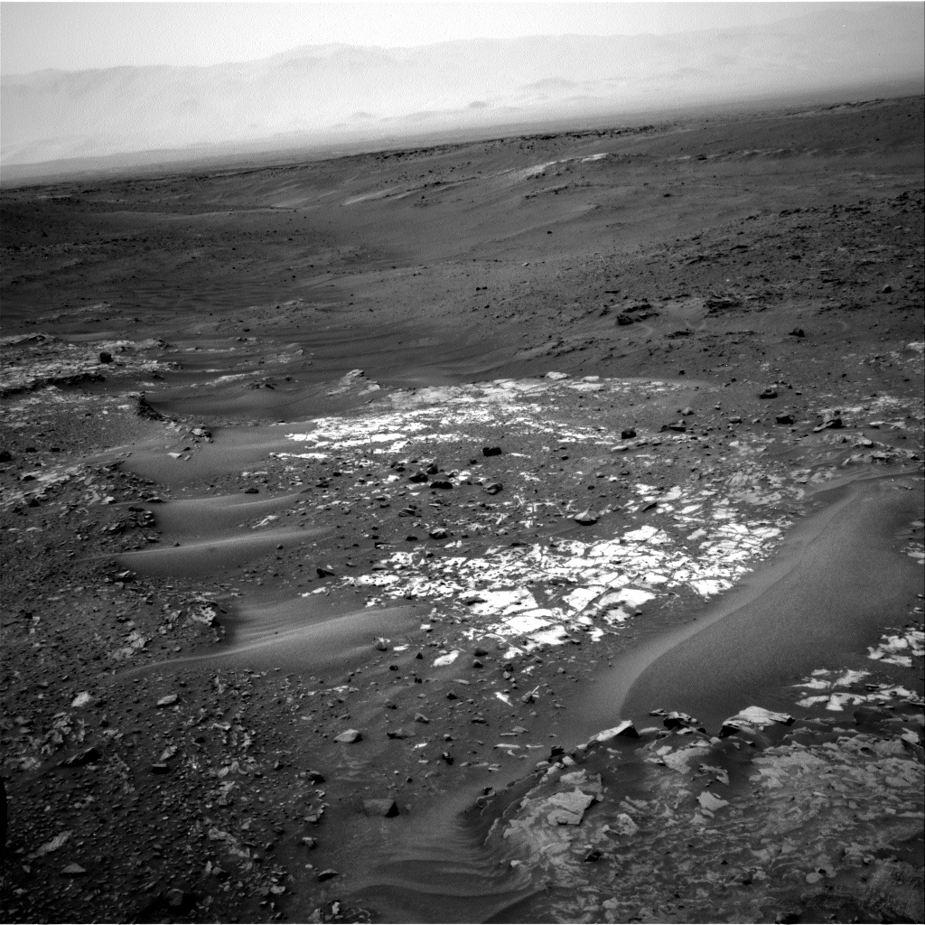 Nasa's Mars rover Curiosity acquired this image using its Right Navigation Camera on Sol 987, at drive 448, site number 48