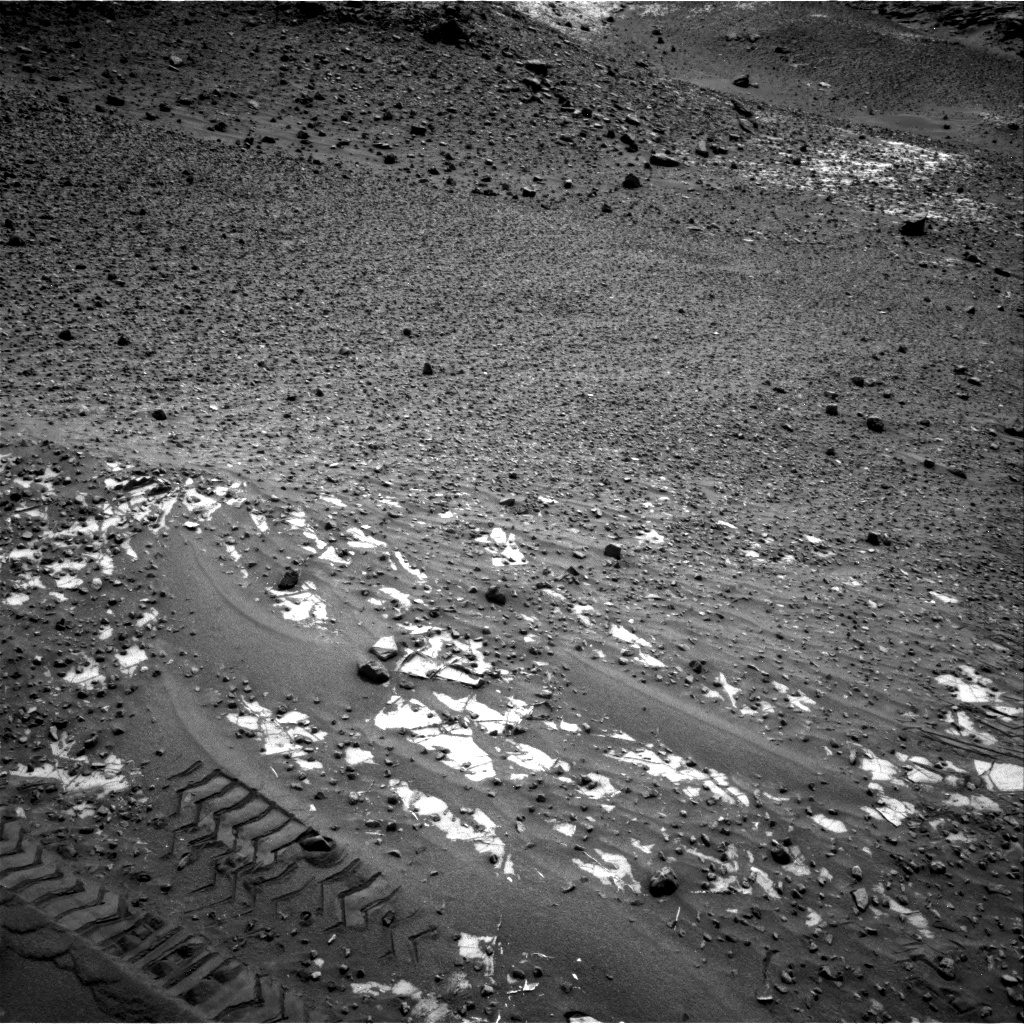 Nasa's Mars rover Curiosity acquired this image using its Right Navigation Camera on Sol 987, at drive 458, site number 48