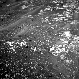 Nasa's Mars rover Curiosity acquired this image using its Left Navigation Camera on Sol 990, at drive 596, site number 48