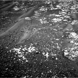 Nasa's Mars rover Curiosity acquired this image using its Left Navigation Camera on Sol 990, at drive 608, site number 48