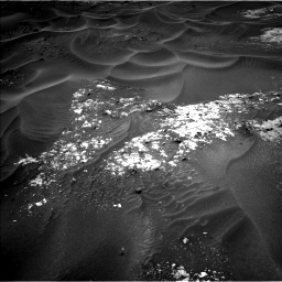 Nasa's Mars rover Curiosity acquired this image using its Left Navigation Camera on Sol 990, at drive 722, site number 48