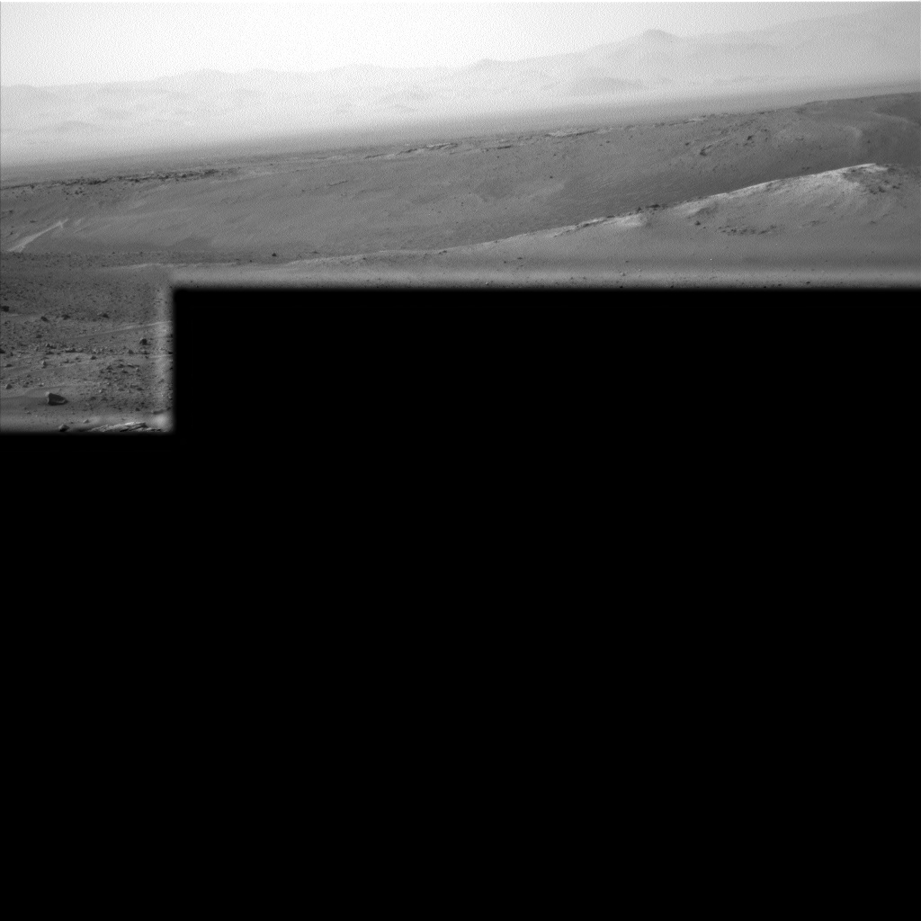 Nasa's Mars rover Curiosity acquired this image using its Left Navigation Camera on Sol 990, at drive 876, site number 48