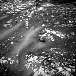 Nasa's Mars rover Curiosity acquired this image using its Right Navigation Camera on Sol 990, at drive 542, site number 48