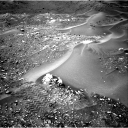 Nasa's Mars rover Curiosity acquired this image using its Right Navigation Camera on Sol 990, at drive 758, site number 48